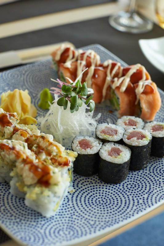 Großartiges Sushi im Restaurant Sakura