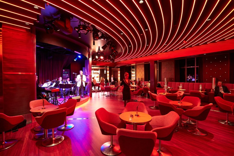 Der Jazz-Club an Bord