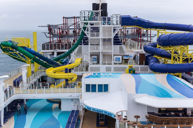Von Hamburg nach Miami: Die Norwegian Escape sticht in See